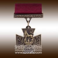 China Shenzhen Factory Produce High quality cheap metal military medal wholesale