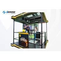 China Double Players 9D VR Interactive Shooting Game Simulator With HTC VIVE Glasses wholesale