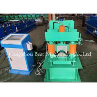China Metal Roof Building Material Ridge Cap Forming Machine 0.3-0.8mm Thickness 2 Years Warranty wholesale