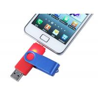 China Mobile OTG USB Driver metal 32GB Rotatable with Grade A Chip wholesale
