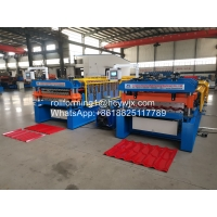 China Metal 380v 15m/Min Roof Panel Roll Forming Machine wholesale