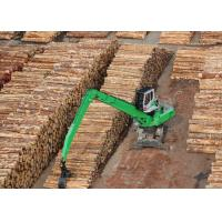 China Timber / LOG Handler Excavator Industrial Material Handling Equipment on sale