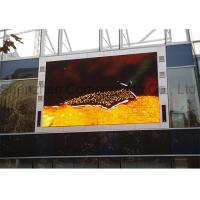 China Customized P10 SMD Advertising Outdoor Full Color LED Display Large High Brightness  Video Wall for Building wholesale