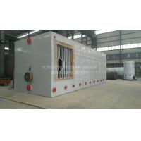 Quality Environment Friendly Three Pass Fire Tube Boiler Gas Oil Hot Water Boiler 0.7MW-14MW for sale
