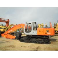 China New Paint Second Hand Excavators , Japan Hitachi Ex200 5 Excavator For Sale wholesale