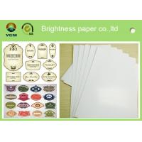 C2s 100% Virgin Pulp Glossy Printing Paper For Label High Stiffness