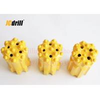 China T45 Retractable Drill Bit with Parabolic / Spherical Buttons for Mining Tunneling Drilling wholesale