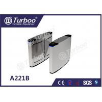 China 304 Stainless Steel Optical Barrier Turnstiles With Multiple Anti - Pinch wholesale