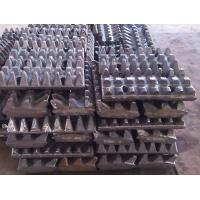 China Stone Slag Crusher Machine / Tooth Plate Small Error High Temperature Resistance wholesale