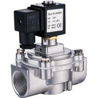 China Economic Right Angle Solenoid Valve DN20 ~ 25 ASCO Type With Seal Material NBR Standard wholesale