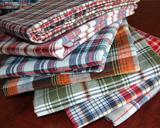 China 100%cotton yarn dyed fabric wholesale