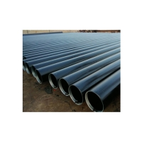 China Black Industrial Pipes And Tubes / High Strength Metal ERW Steel Pipe/Sch80 Welded Steel Pipe Thickness 3.9mm API 5L GRB wholesale