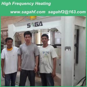 China YX80-SA Radio Frequency Wood Bending Press Machine For Sale From SAGA wholesale