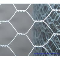 China Hot Dip Galvanized Hexagonal Chicken Wire , PVC Coated Wire Mesh For Gabion Wall wholesale