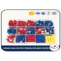 China Electrical Wire Insulated Crimp Terminal Assortment Kit Spade Assorted Set KLI-9917432 on sale