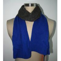 Buy cheap Women Knitting Patterns Accessories Merino Wool Cashmere scarf Contrast Colors product