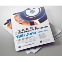 Buy cheap Promotional Print Business Flyers Recycled Custom Tri Fold Brochure from wholesalers