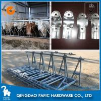 Quality 42mm*3 Round Tube Cattle Feed Barrier Gates For Livestock Farm for sale