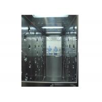 China Stainless Steel Tunnel Air Shower With Automatic Door , Clean Room Equipment wholesale