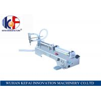 China hot sale factory price semi-automatic piston water juice  liquid filling machine made in China wholesale