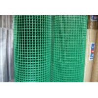 China Green Color 1X1 PVC Coated Welded Wire Mesh Roll For 0.5-2m Width Long Life wholesale
