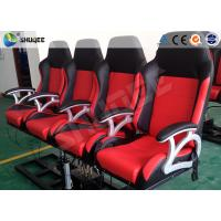 China Pneumatic System 6d Motion Theater With Spary Water , Sweep Leg , Can Holding 200 People wholesale