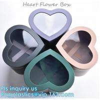 China Different Design Cardboard Luxury Packaging Box For Flowers with custom Logo,GIFT SET BOX,KEY CHAIN BOX,HEART FLOWER BOX on sale