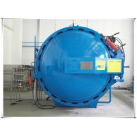 Quality Automatic hot presser vulcanization tank autoclave with PLC system and cylindric and single drum structure for sale