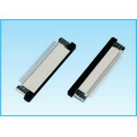 China ZIF R/A Lower Type SMT FPC Cable Connector 500MΩ Min Insulation Resistance on sale
