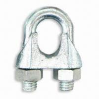 China DIN 741 MALLEABLE WIRE ROPE CLIPS wholesale