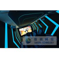 China Mini Trailer 6D Movie Theater With 6 Seats For Inside wholesale