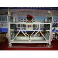 China Custom Steel / Aluminum Alloy Suspended Platform Cradle Corrosion resistance With Caster wholesale