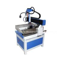 China 600*600mm Cast Iron CNC Metal Carving Machine with 4th Axis DSP Control wholesale