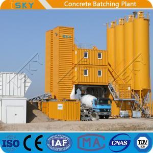 China Small Size HZS120 Mobile Concrete Batching Plant wholesale