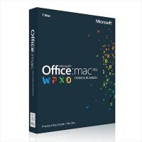 China Microsoft Office Home and Business 2011 for Mac Download  Single License wholesale