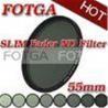 China OEM Fotga 55mm Digital SLR Camera Slim Fader ND Filter Neutral Density ND2 to ND400 wholesale
