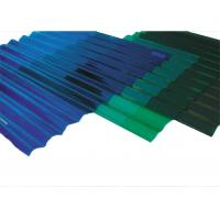 China Durable Corrugated Plastic Roof Panels , Transparent Corrugated Roofing Sheets on sale
