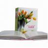 China China professional 4C printed paper photo album wholesale
