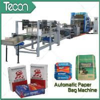 Quality Automatically Management Bottomer Machine / Paper Bag Past Make Machine With Reinforcement Unit for sale