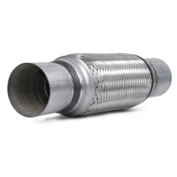 """China 2.5"""" X 8"""" 12"""" Overall Length 201 Stainless Steel Exhaust Flex Pipe For Automobile Aftermarket wholesale"""