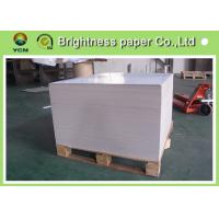 China Thick Shopping Bag Paper , Coated Recycled Board Paper For Making Boxes wholesale