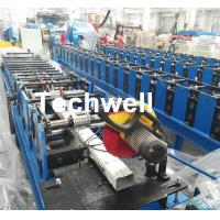 China Downspout Machine / Suqure Tube Cold Roll Forming Machine for Making Rectangular Tube wholesale
