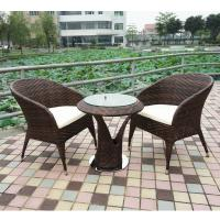 China high quality outdoor/garden furniture rattan table and chair wholesale