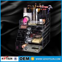 China China new products acrylic makeup display, acrylic makeup box, acrylic makeup storage boxes on sale