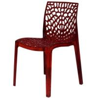China dining furniture, dining room chair  500*435*800mm red and black color, wholesale