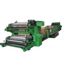 China Motor - driven Sack Making Machine For Chemical Powder Bag , Paper Bag Machinery wholesale