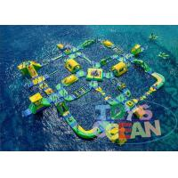 China Giant Commercial Inflatable Water Park For Children Floating CE wholesale
