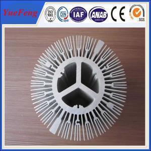 China extruded aluminium alloy profile aluminum radiator, trapezoid radiator aluminium profiles wholesale