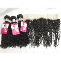 China 100 % Unprocessed Peruvian Human Hair Weave Curly Remy Hair Extensions wholesale