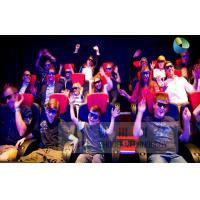 China Fantastic 7D Cinema System With Adventure Movies , Flexible Motion Chairs wholesale